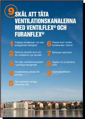 9 skäl att använda FuranFlex VentilFlex