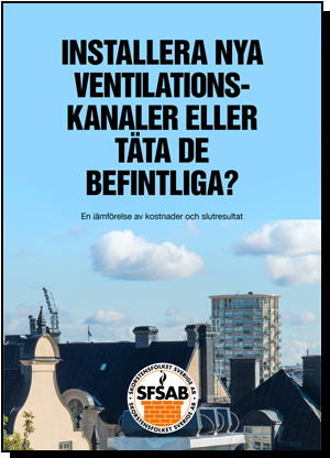 Installera nya ventilationskanaler